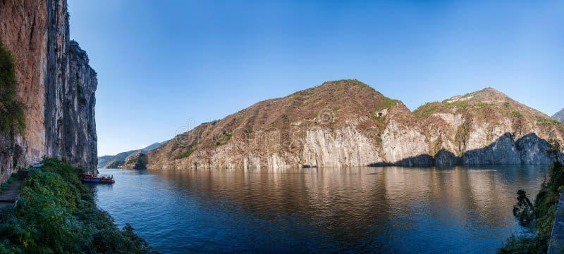 Three Gorges do desfiladeiro do Rio Yangtzé Qutangxia fotografia de stock royalty free