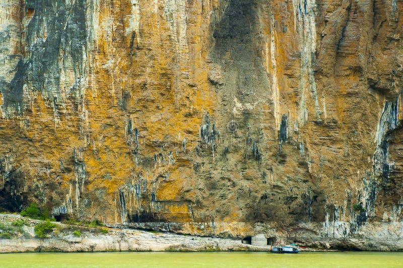 Three Gorges Yangtze River fotografering för bildbyråer