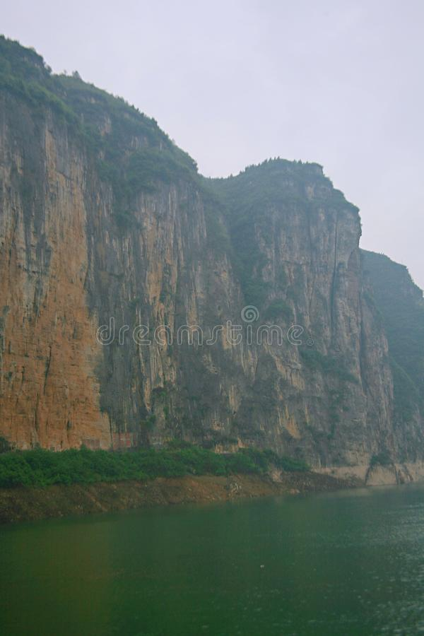 The Three Gorges of the Yangtze River royalty free stock photography