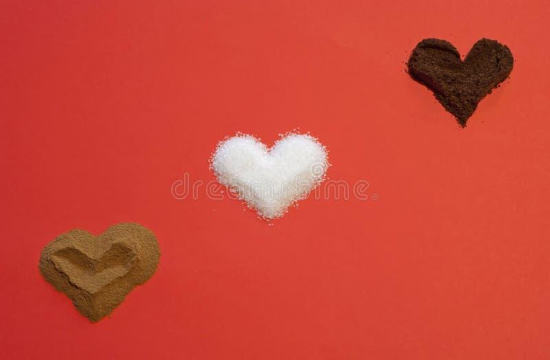 Download Three hearts stock image. Image of overhead, romantic - 28689861