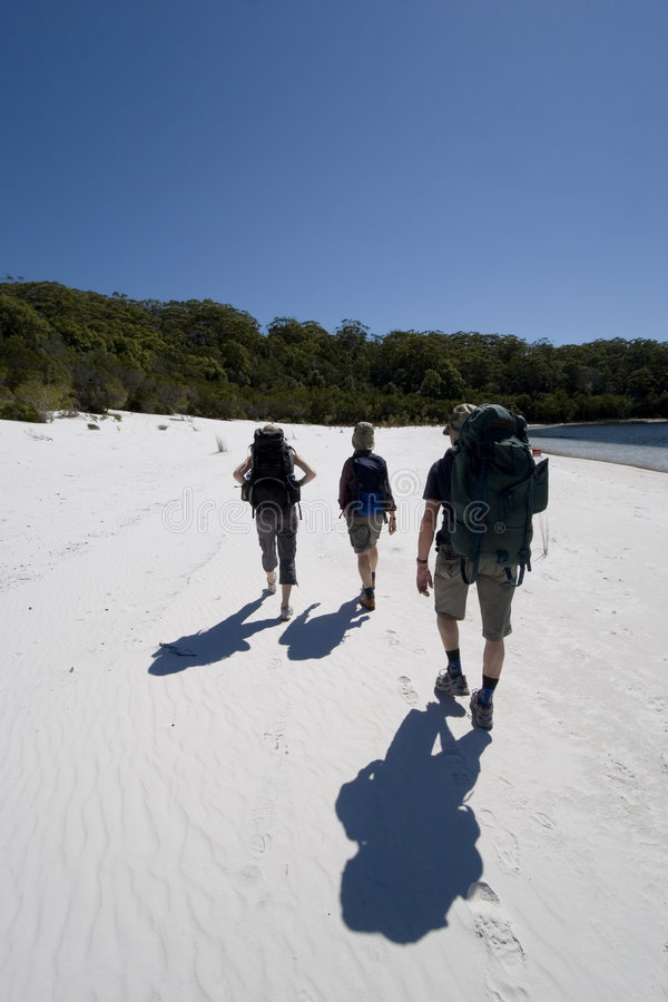 Download Three Hikers In Australia 6 Stock Photos - Image: 1600903