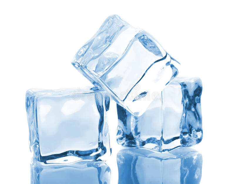 Download Three ice cubes stock image. Image of freeze, freshness - 20263439