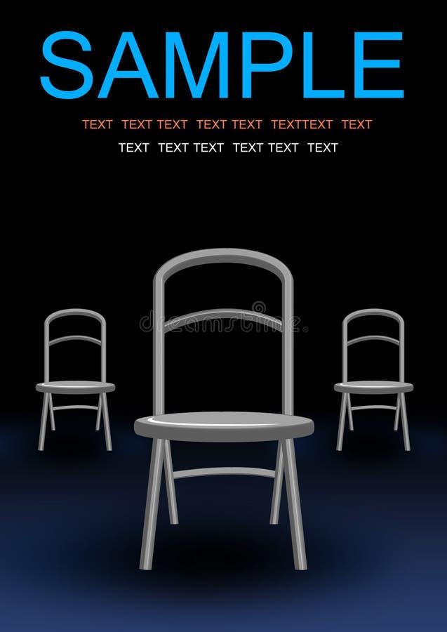 Three investigate chair