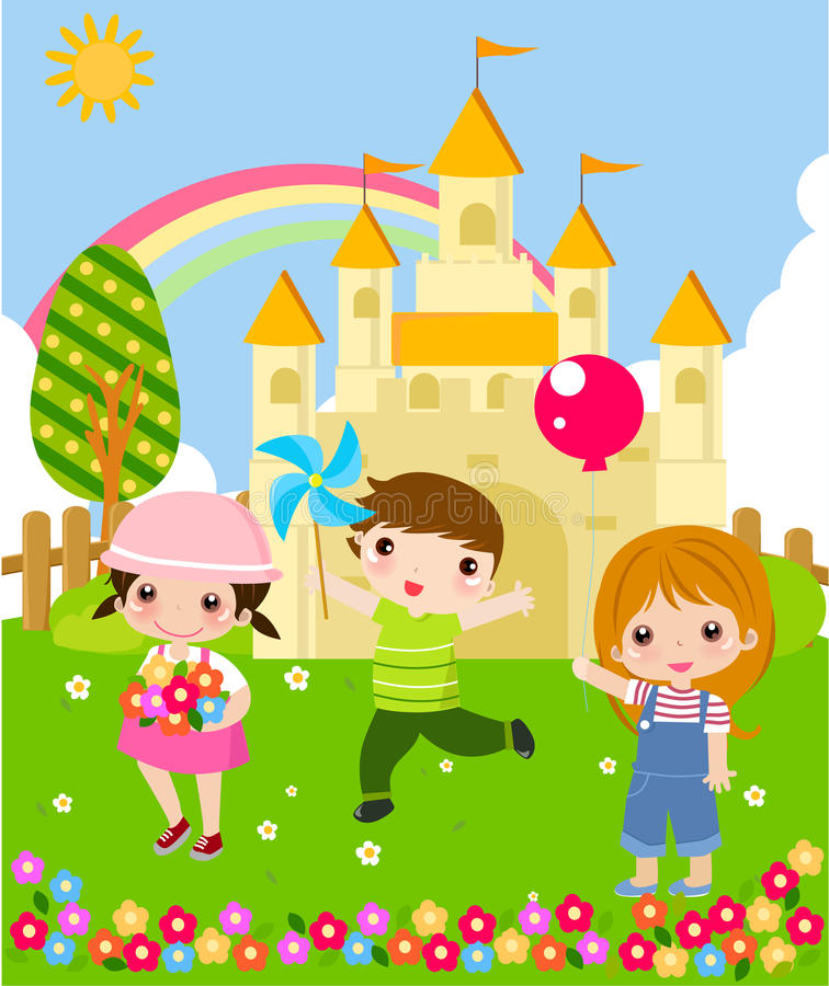 Download Three Kids Stock Images - Image: 14274104