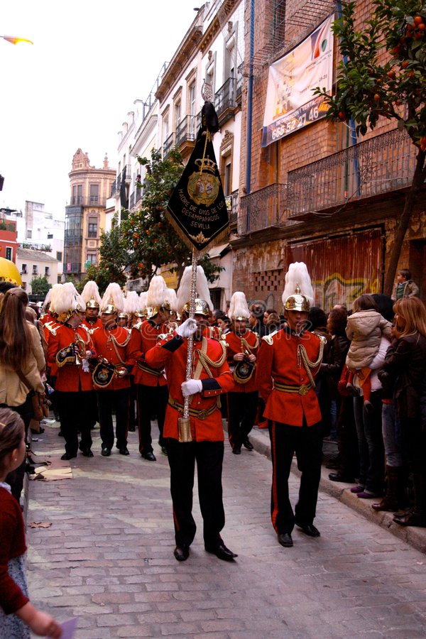 Download Three Kings Parade In Seville, Spain Editorial Photography - Image: 7655742