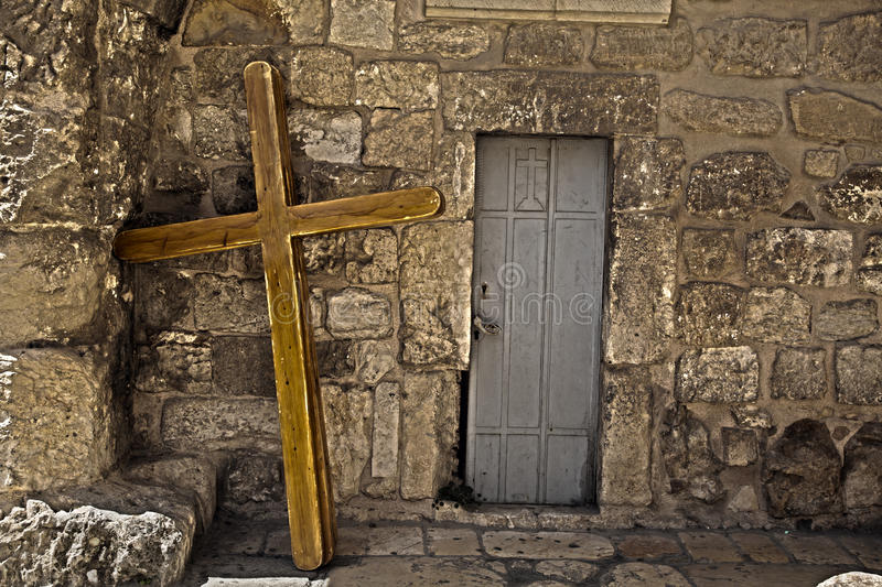 Download Pilgrimage Crosses stock image. Image of brick, city - 29995439