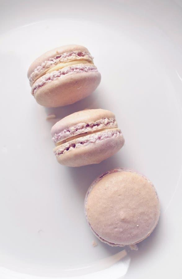 Download Three Lavender Macarons Royalty Free Stock Image - Image: 26305326