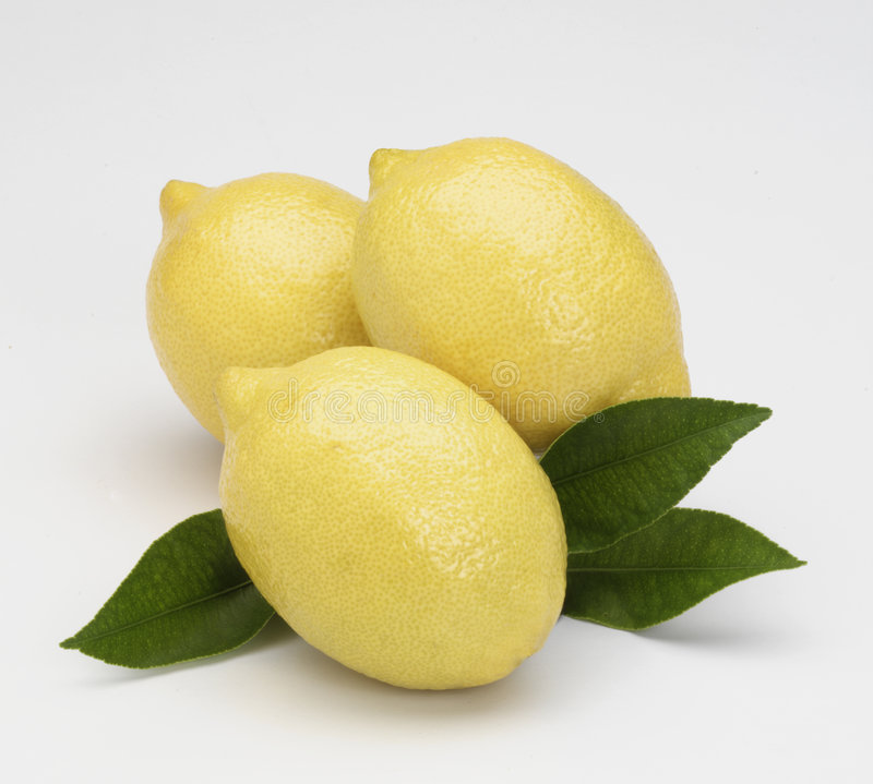 Free Three Lemons Royalty Free Stock Image - 6202506
