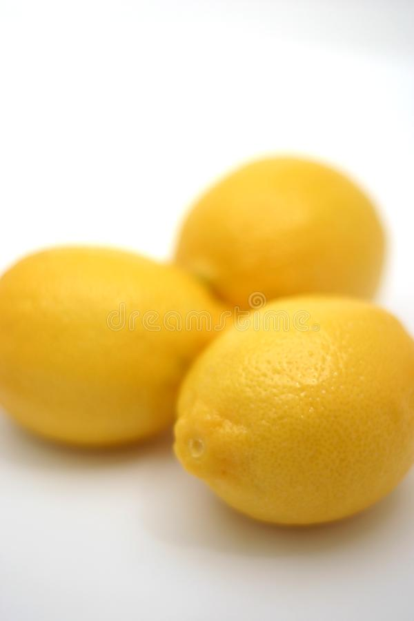 Three Lemons Free Stock Image