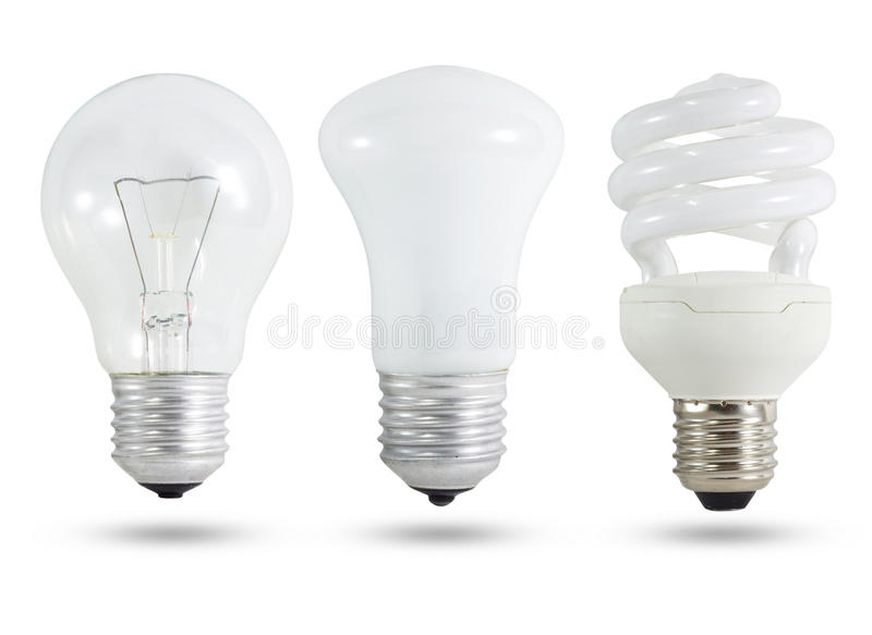 Download Three Light Bulb Royalty Free Stock Photography - Image: 25228067