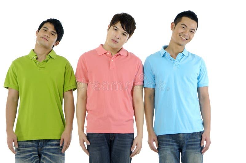 Download Three men stock photo. Image of happy, dancer, handsome - 28670552