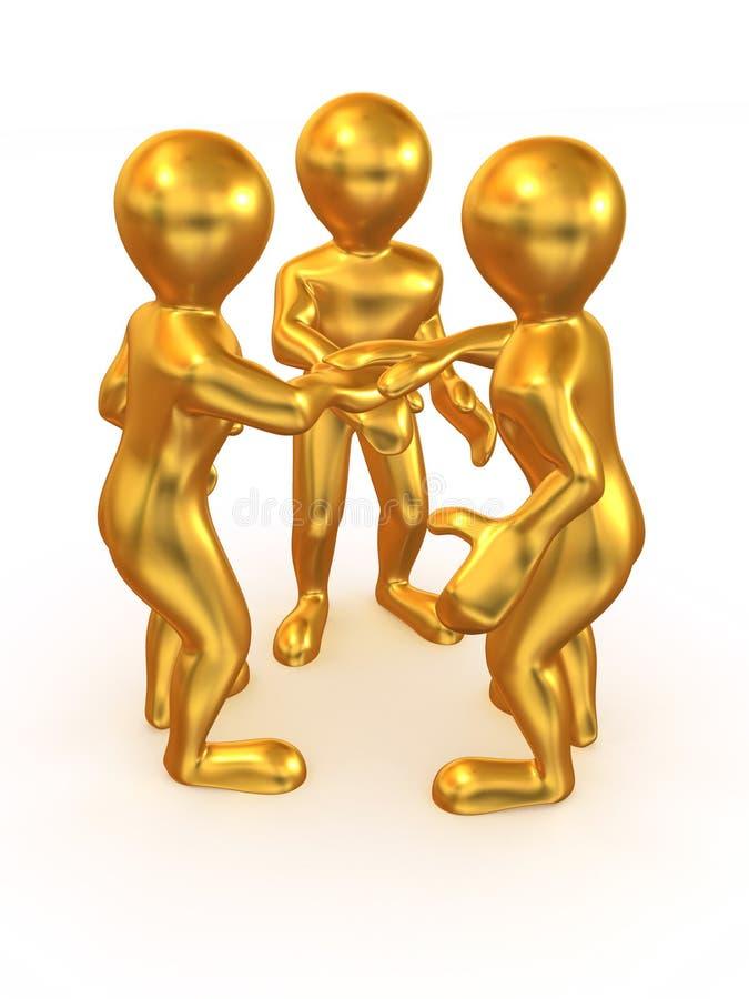 Download Three Men. Teamwork Stock Photo - Image: 9391040