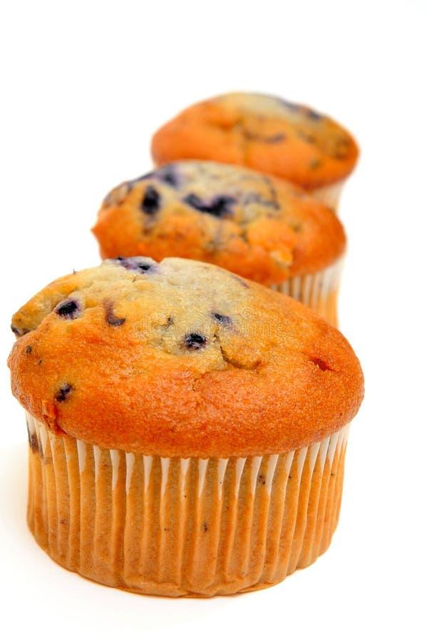 Three Muffins royalty free stock photo