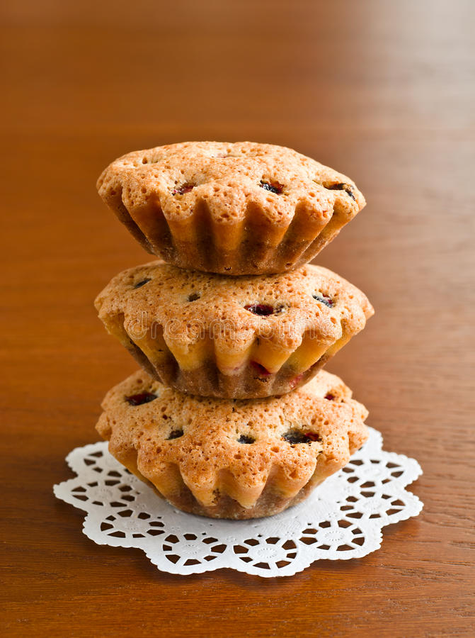 Free Three Muffins Royalty Free Stock Photography - 22212447