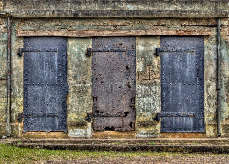 Three Mysterious Entrances royalty free stock photos