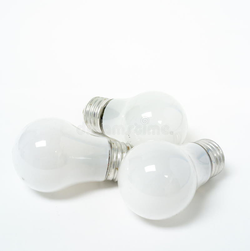 Download Three Old Tungsten Light Bulbs Stock Image - Image: 28998089