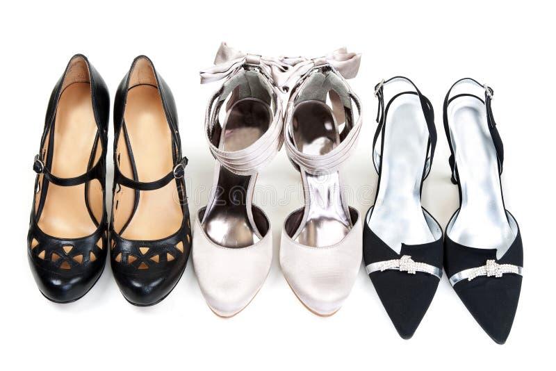 Three pairs stock photos