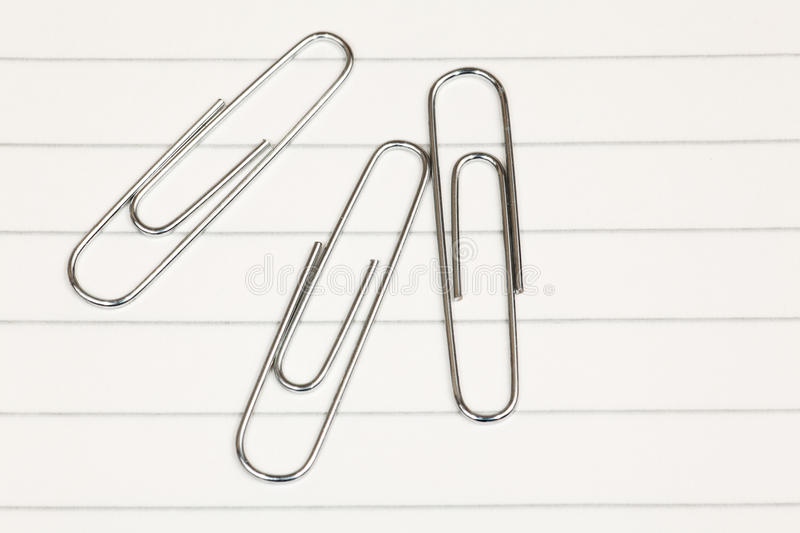 Download Three paper clips stock image. Image of clip, business - 10609173
