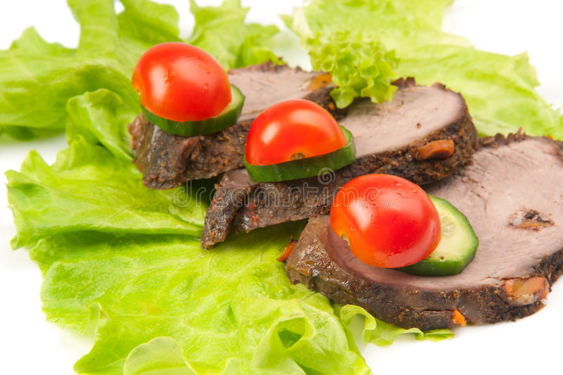 Download Three peaces of meat stock photo. Image of diet, freshness - 17741412