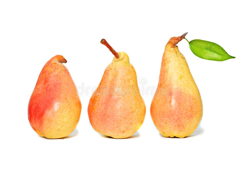 Download Three pears stock image. Image of background, close, pear - 11984965