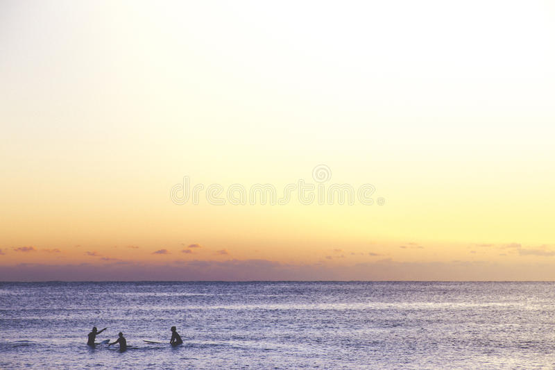 Three People In Beach During Sunset Free Public Domain Cc0 Image