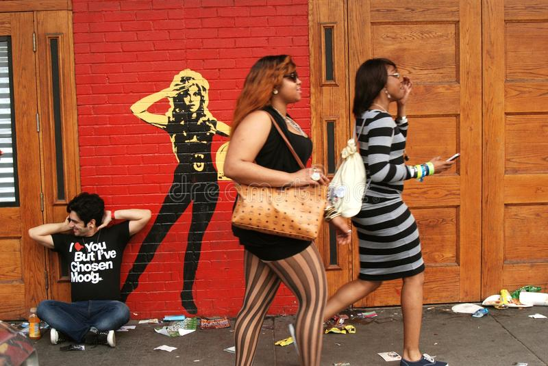 Download Three People On The Street At South By Southwest Editorial Photo - Image: 23878876