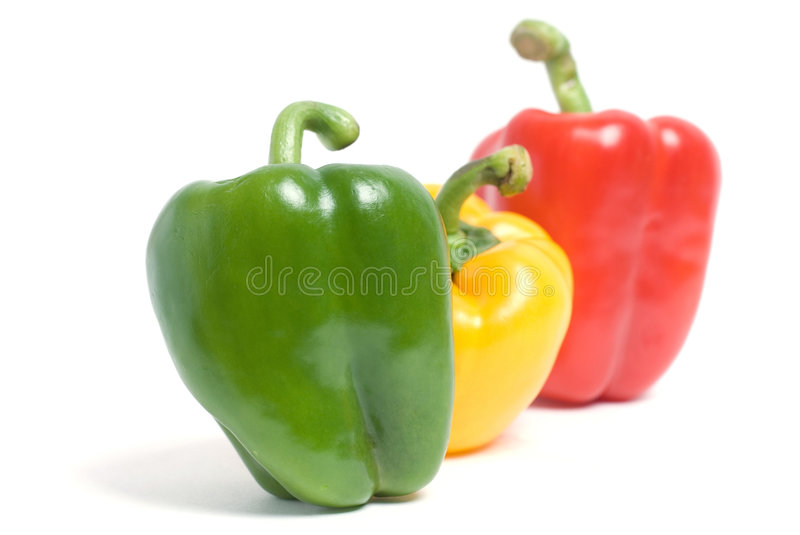 Three pepers stock photography