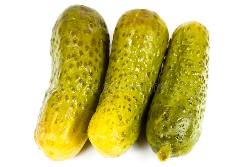 Download Three Pickles stock image. Image of sour, cucumber, green - 32892277