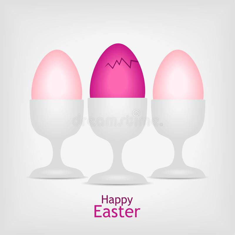 Download Three Pink Easter Eggs Royalty Free Stock Photo - Image: 23047625