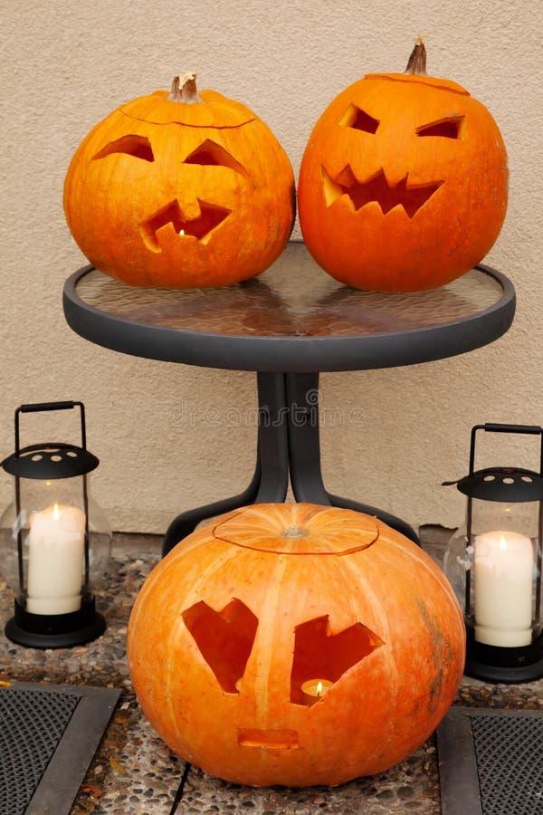 Download Three Pumpkins Of Halloween. Stock Image - Image: 21927499