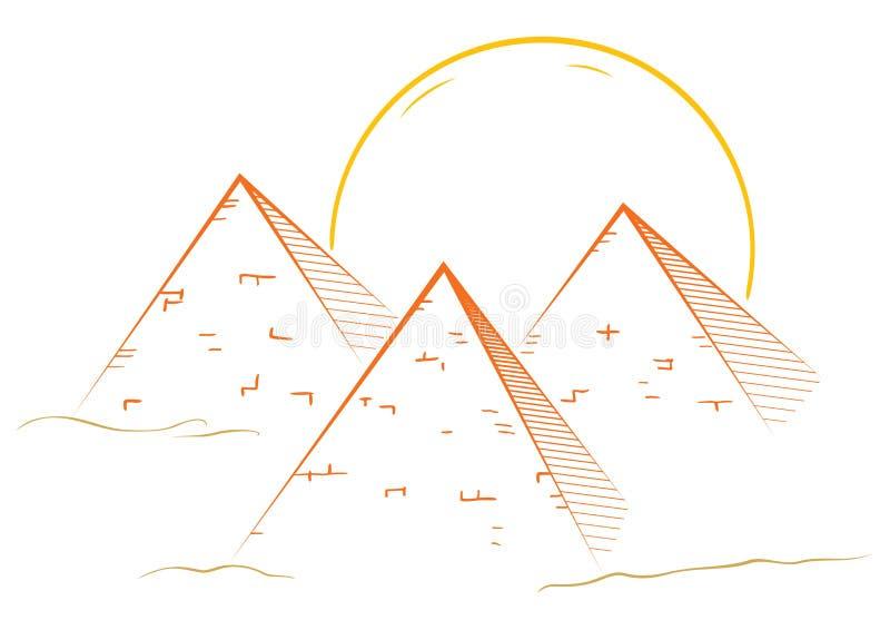 Download Three Pyramids Stock Photos - Image: 25763383