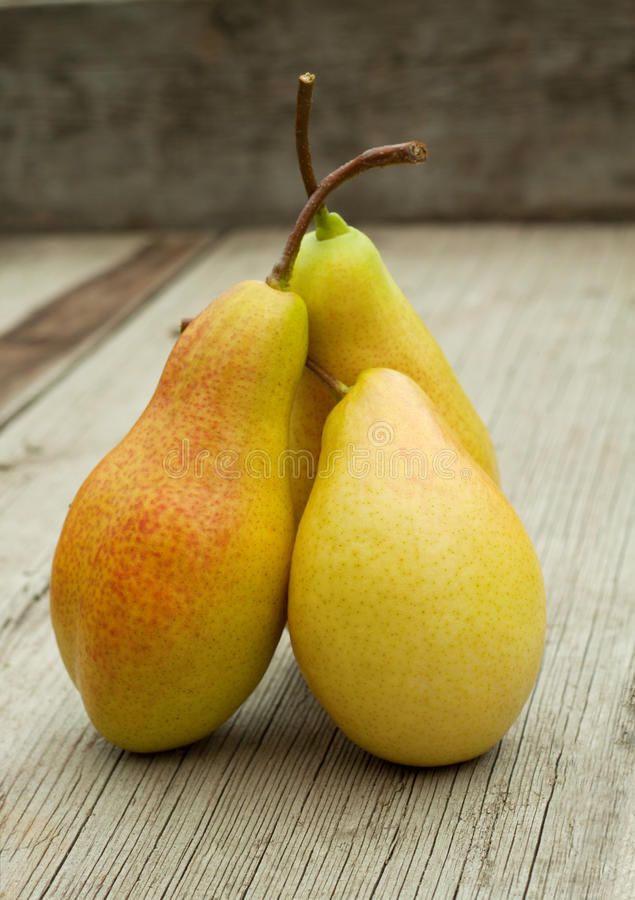 Download Three Ripe Pears With Cuttings Stock Image - Image: 26778019