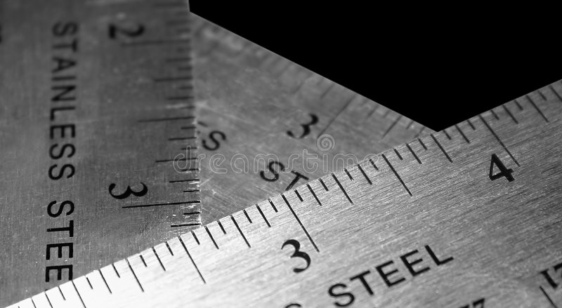 Download Three Rulers Stock Photos - Image: 87033
