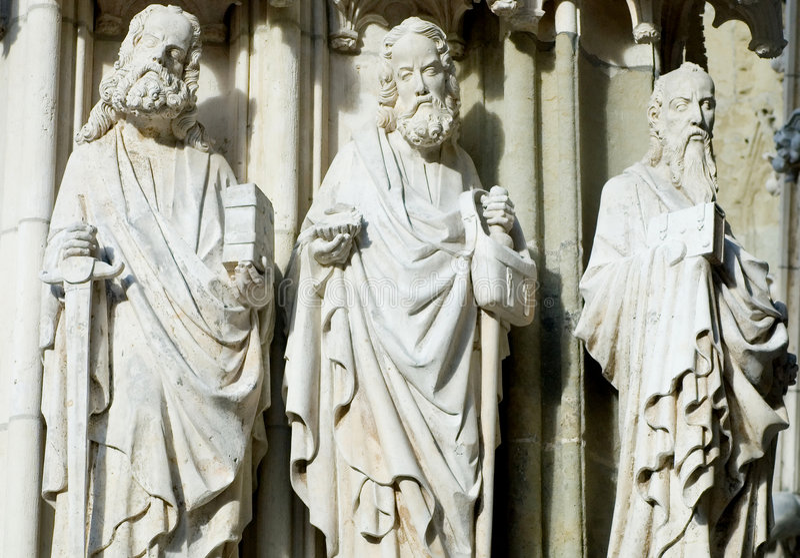 Three Saints royalty free stock photography