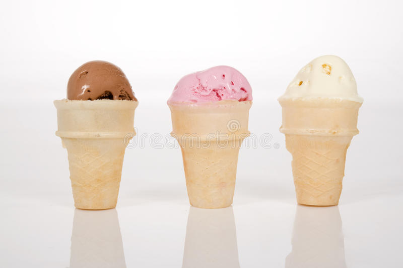 Three Scoops Of Ice Creams