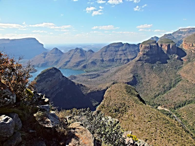 Three rondawels drakensberge limpopo near Hoedspruit South Africa near Gods window. Three sister in limpopo south Africa ,landscapes royalty free stock photos