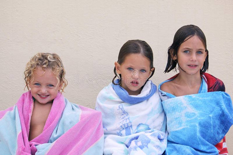 Download Three sisters stock photo. Image of outside, child, happy - 11735406