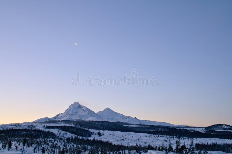 Three Sisters Dawn stock image