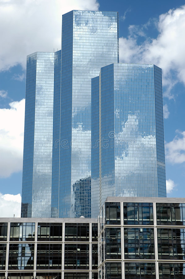 Download Three Skyscrapers In Paris Royalty Free Stock Photo - Image: 1046815
