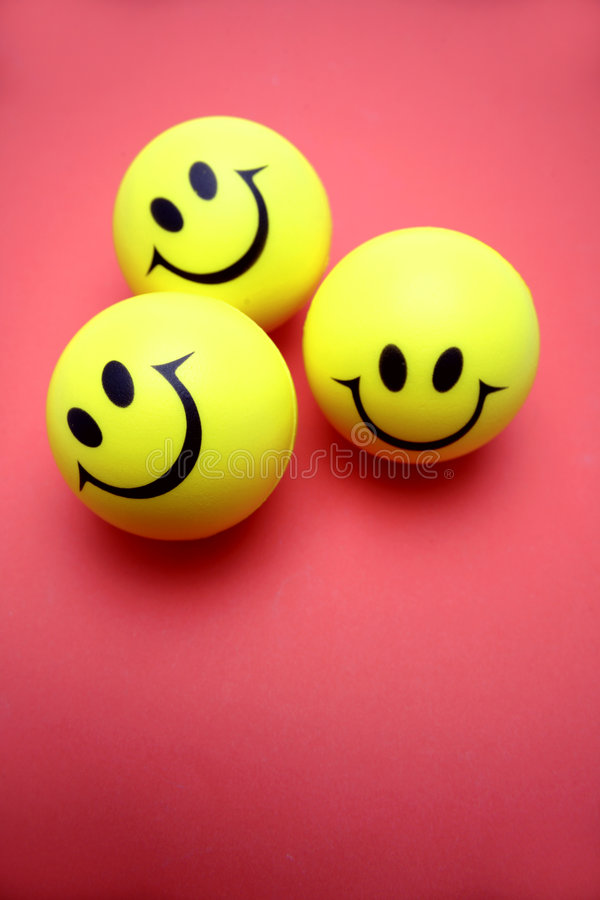 Download Three smiley faces stock image. Image of inside, objects - 4498697
