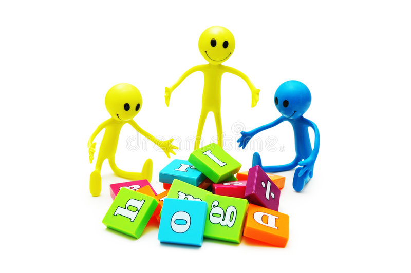 Download Three smilies playing stock photo. Image of pictogram - 2377032