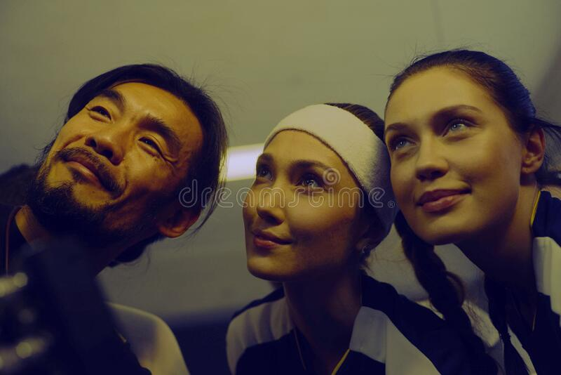Three Smiling Faces Free Public Domain Cc0 Image