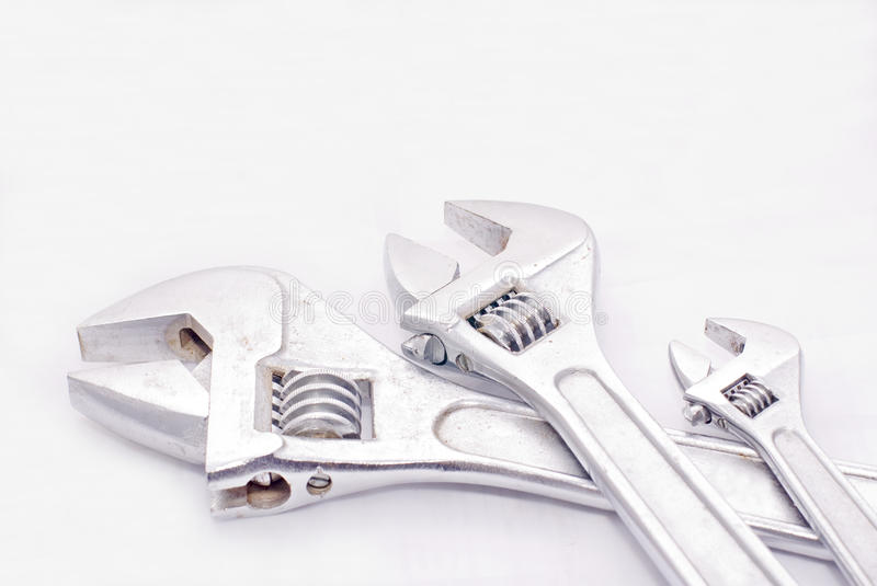 Download Three spanner stock photo. Image of tool, industry, hand - 11660542