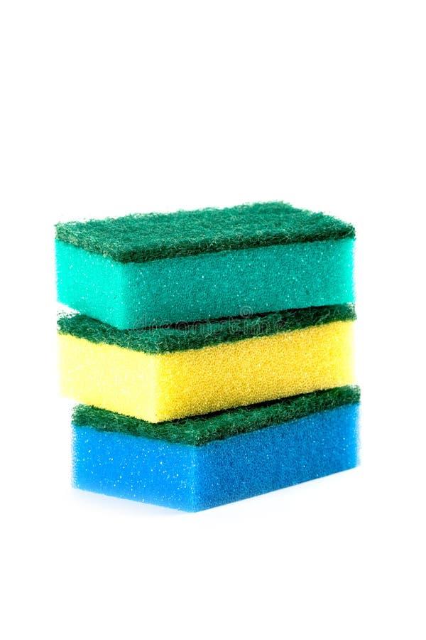 Three Sponges Stock Images