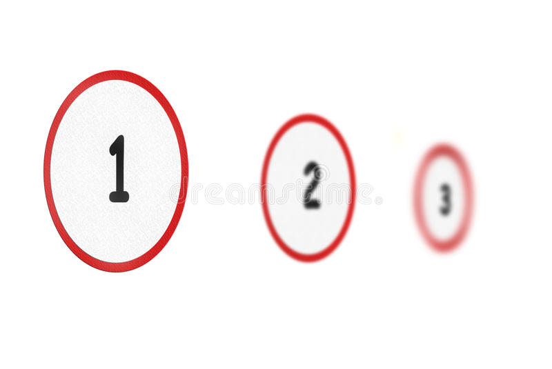 Download Three steps stock image. Image of next, start, first - 13464933
