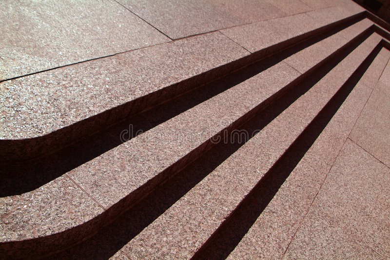 Download Three Stone Steps stock photo. Image of perspective, downstairs - 1415948