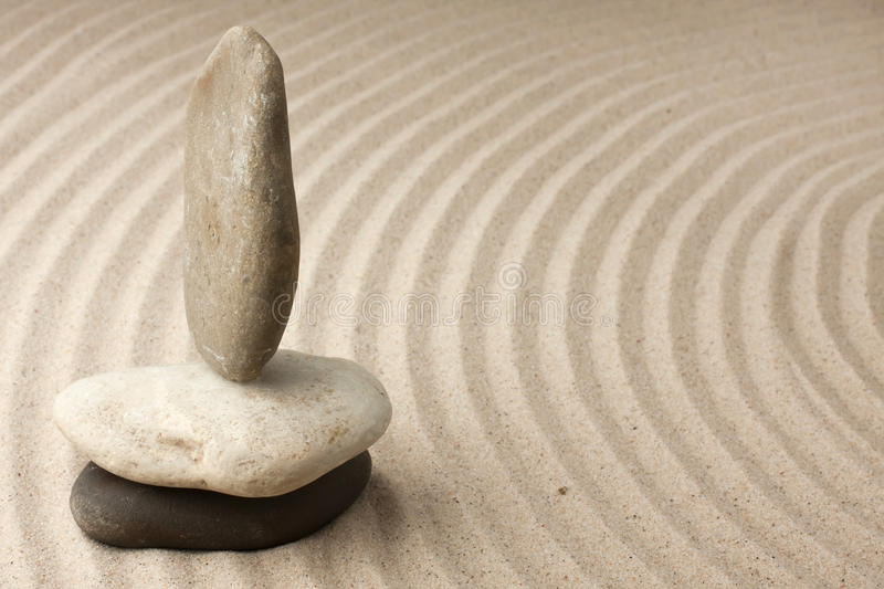 Download Three stones in the sand stock image. Image of pebble - 25872783
