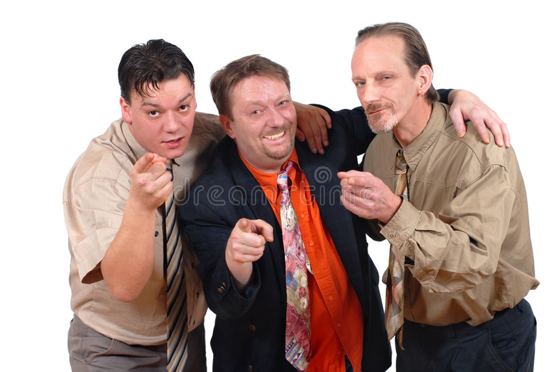 Download Three Successful Men Pointing Stock Images - Image: 2786774