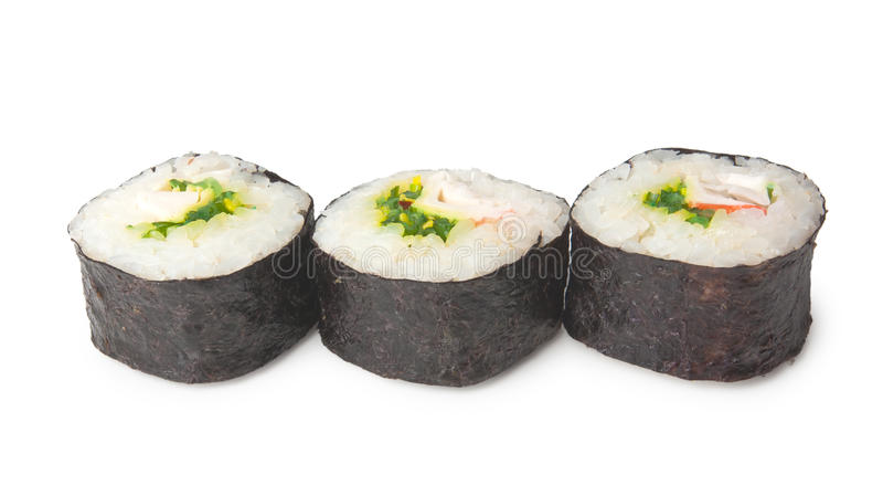 Download Three sushi stock photo. Image of traditional, fresh - 30886260