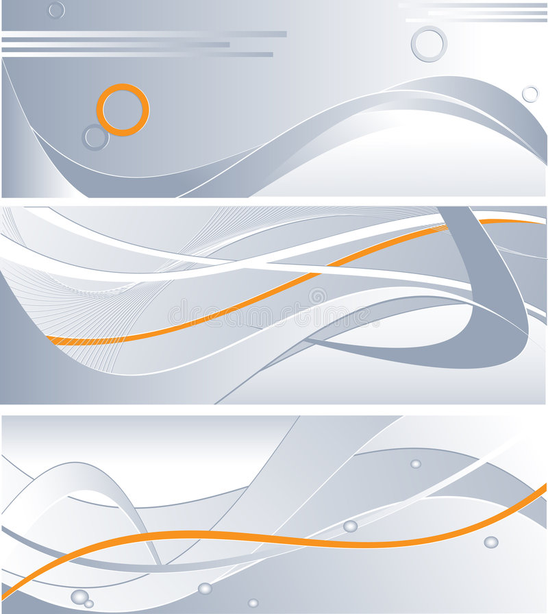 Download Three technology backdrops stock vector. Image of steel - 6359864